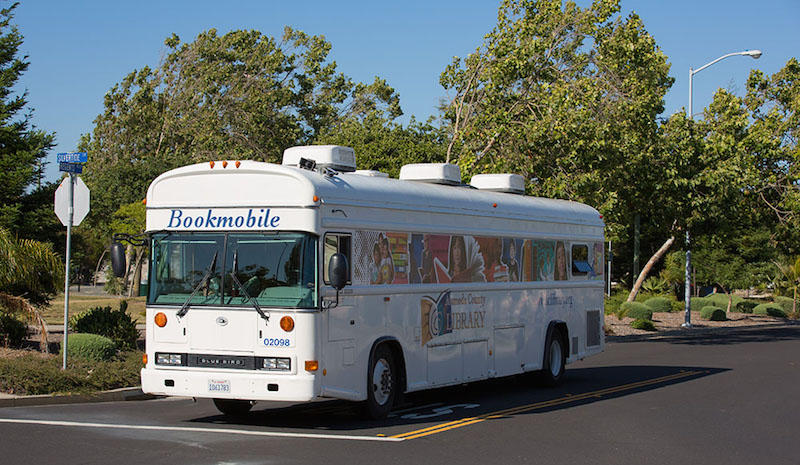 Bookmobile Visit Today