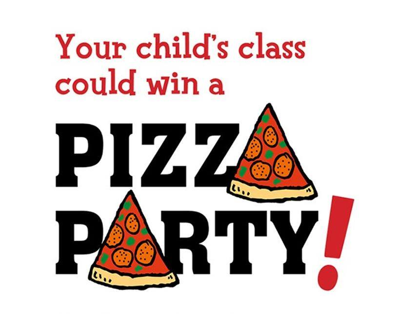 Win a Pizza Party for Your Child's Class!