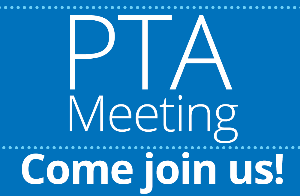 PTA Meeting – May 8