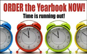 Yearbook Deadline is April 30th